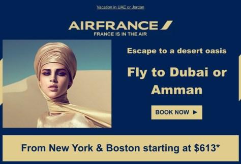 Air France Discount