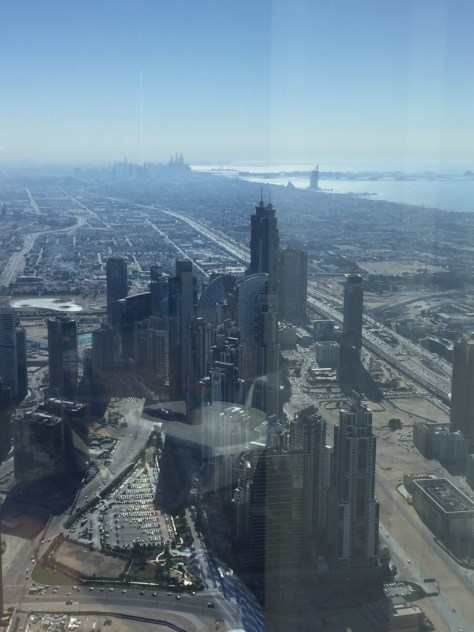 Rest of the Skyline , from 123 floors up.
