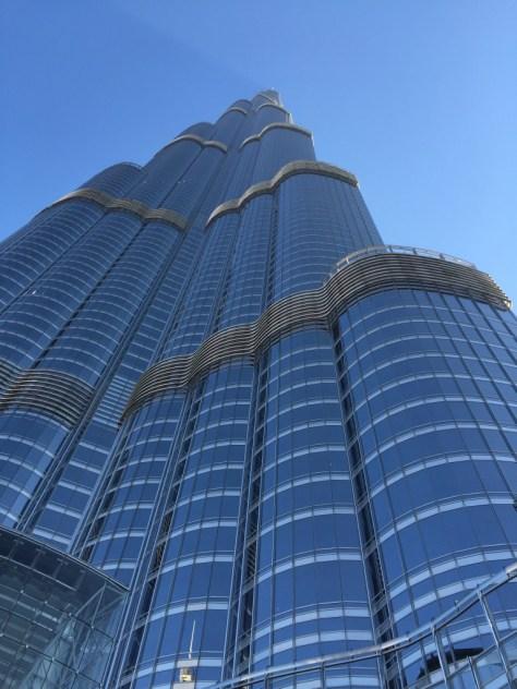 The Burj Khalifa... it's just immense