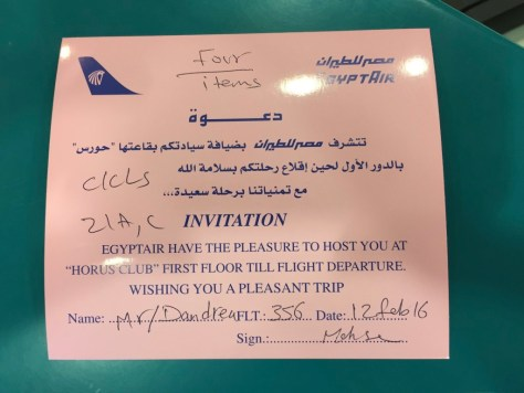 Invitation to the Horus Club! Love the grammar