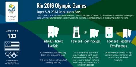 CoSport Rio TIckets