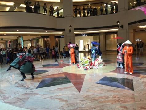 Dubai Mall Chinese New Year Show