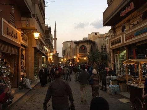 Walking around Old Town Cairo