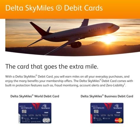 Skymiles Debit Card