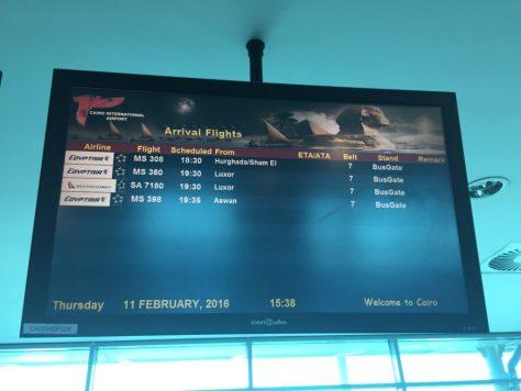 EgyptAir Arrivals