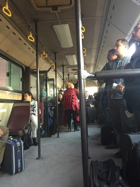 EgyptAir Bus Boarding