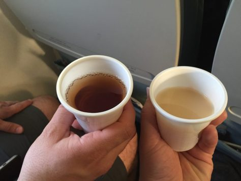 EgyptAir Pre-Departure Beverages