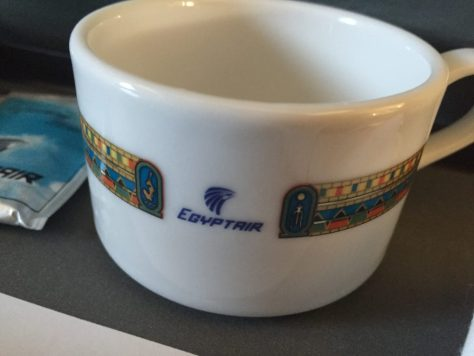 EgyptAir Coffee cup