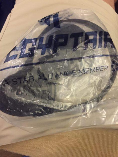 EgyptAir Walkman Headphones
