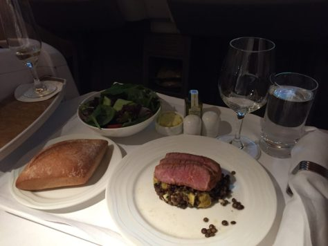 Emirates Beef and Lentils