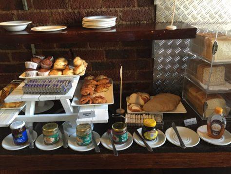 Protea OR Tambo breakfast