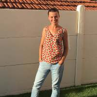 Ma blouse datura Pastèque / Pattern hacking