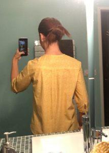 nom d'une couture chemise jaune burda couture facile automne hiver 2015 2016 11