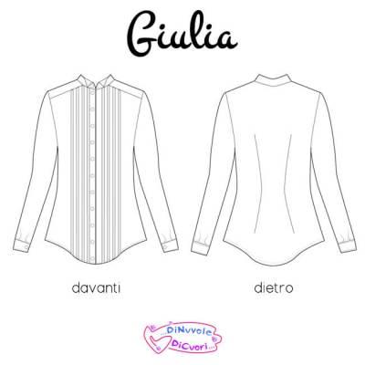 Nom d'une couture ! chemise Giulia