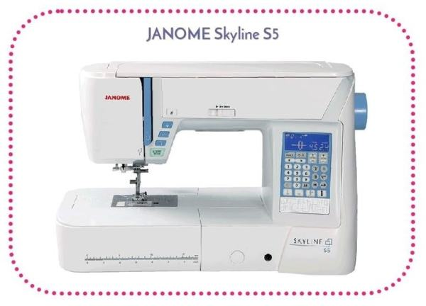 Machine à coudre Janome Skyline S5