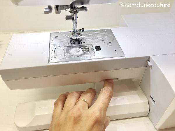 comment retirer la plaque à aiguille sur une machine à coudre
