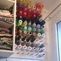 {TUTO} - Comment fabriquer un porte-bobines (cône) mural ?
