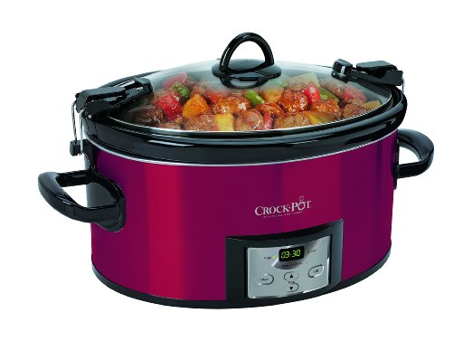Crock-pot SCCPVL610-R-A Programmable Cook and Carry Oval Slow Cooker
