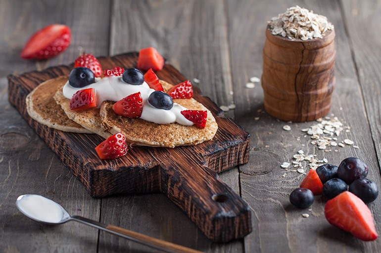 Vegan-Yogurt-and-PanCake