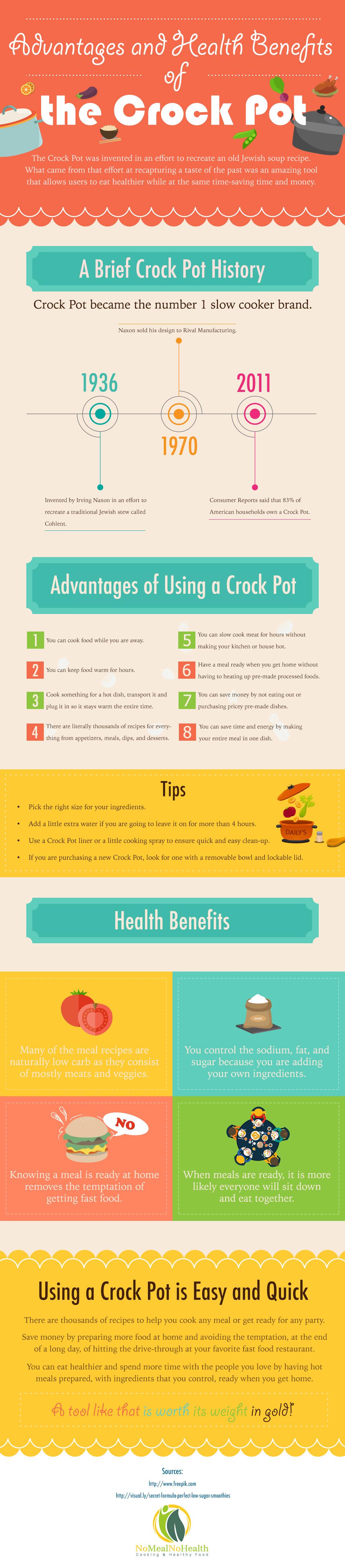 advantages and health benefits of the crock pot