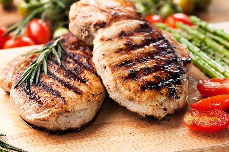 how long do you grill pork chops