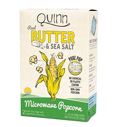 Quinn Snacks Organic Microwave Popcorn