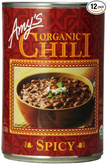 Amy's Spicy Organic Chili