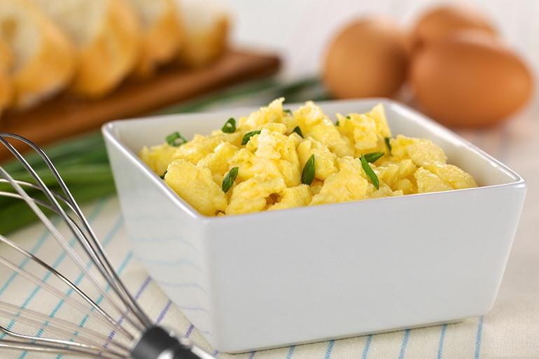 Freezing Scrambled Eggs