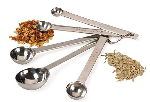 Rsvp International Dsp-4 Stainless Steel Measuring Spoon