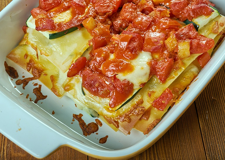 how to cook frozen lasagna in microwave