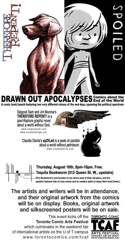Drawn Out Apocalypses webflyer