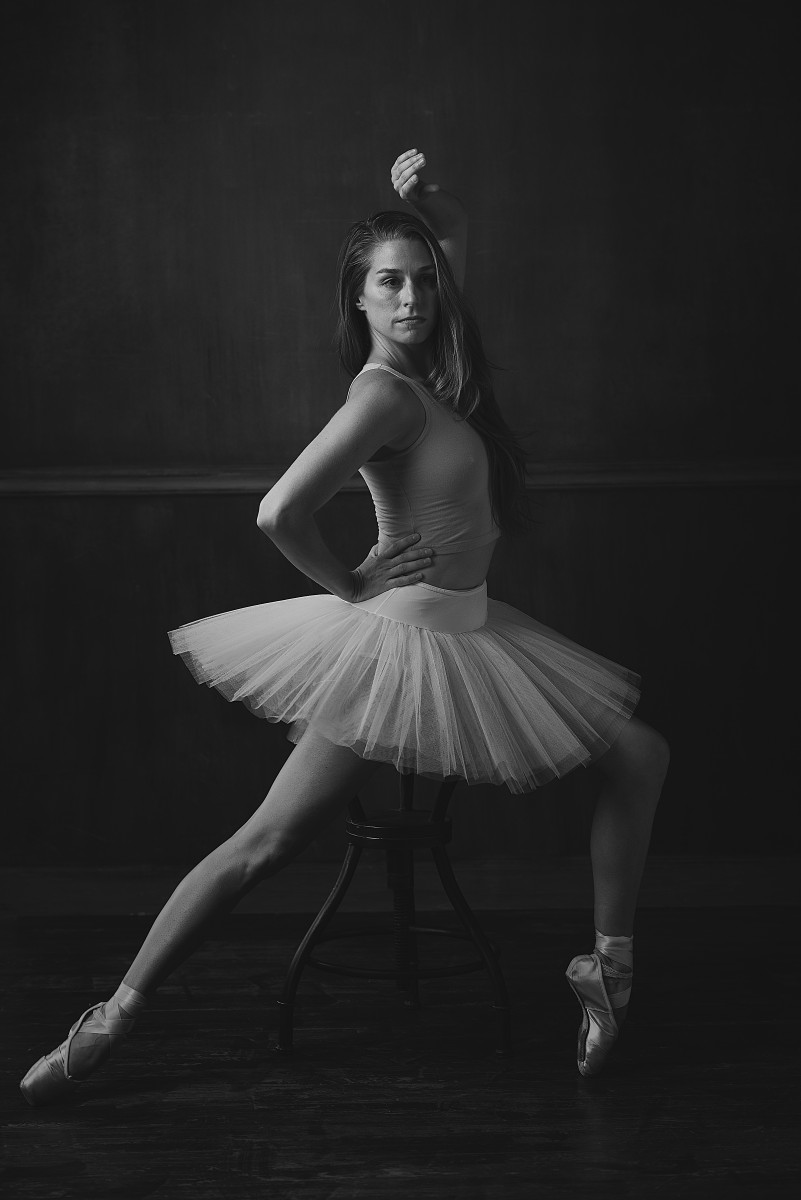 Jackie tutu and pointe shoes