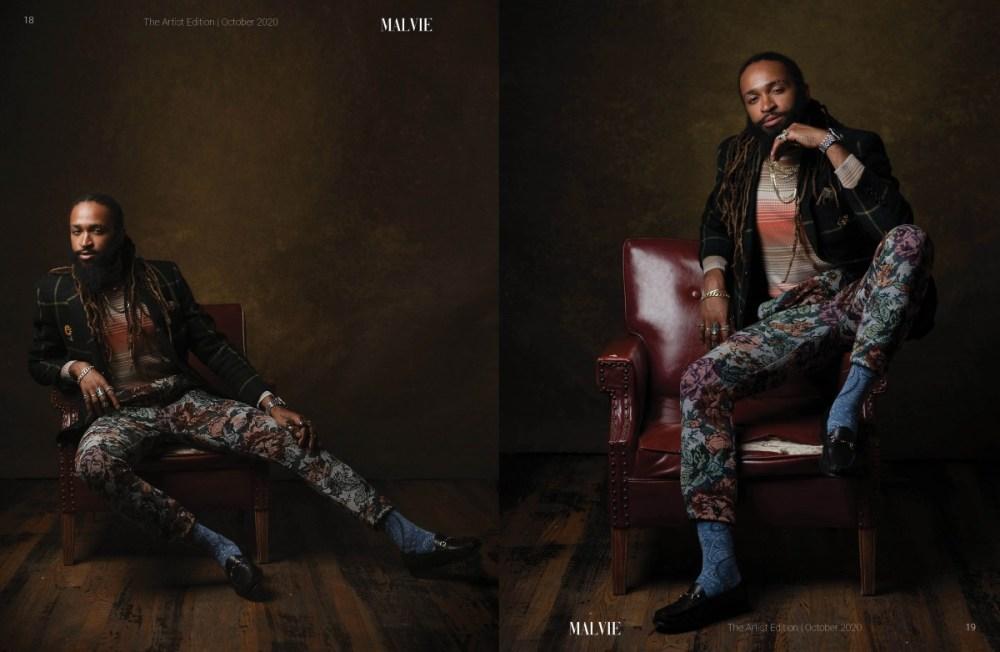 MALVIE Mag The Artist Edition Vol 07 October 2020 spreads10