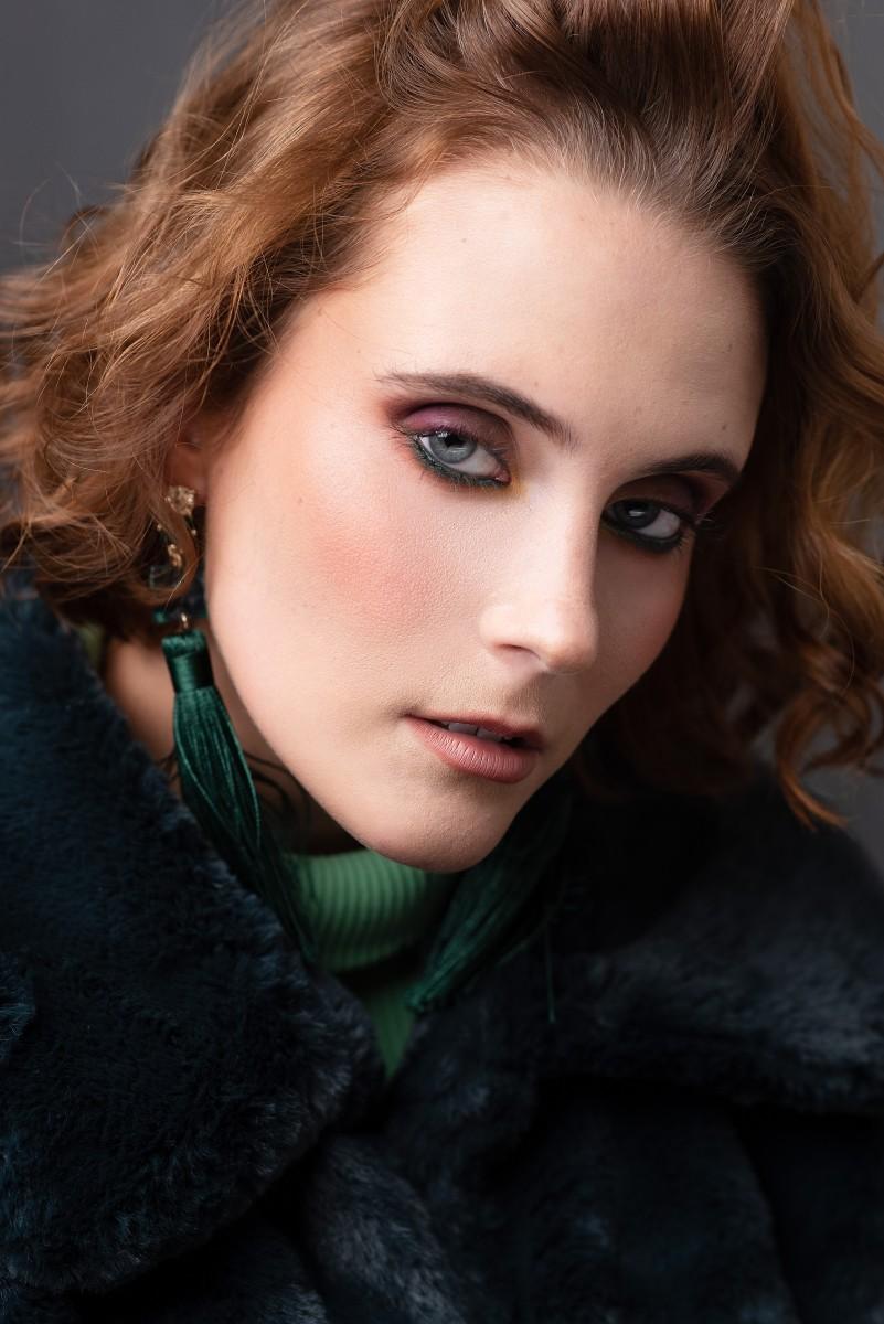 Madelyn Jackson Green Fur Beauty Look