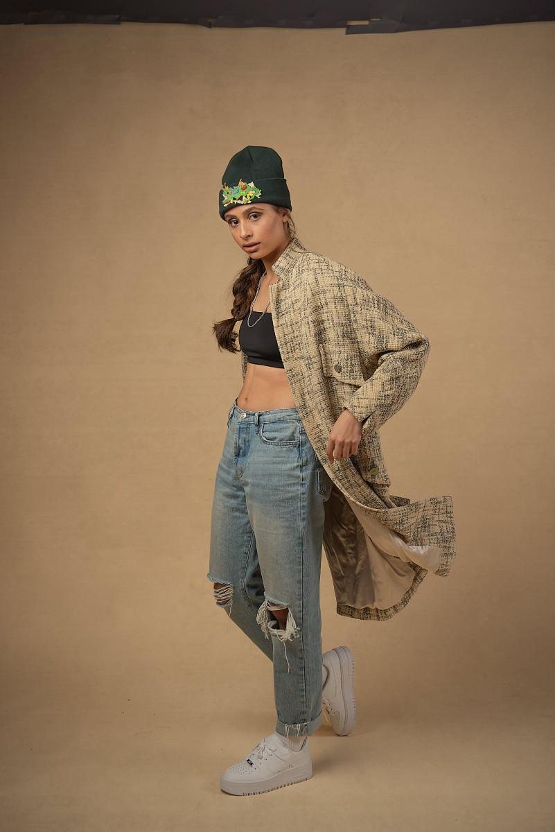 Zoe Oversized Coat urban clothing