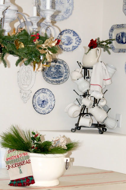 Christmas decorations, french decor, french decorating