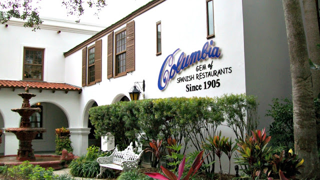 Columbia st Augustine, St Augustine restaurants, st augustine reviews
