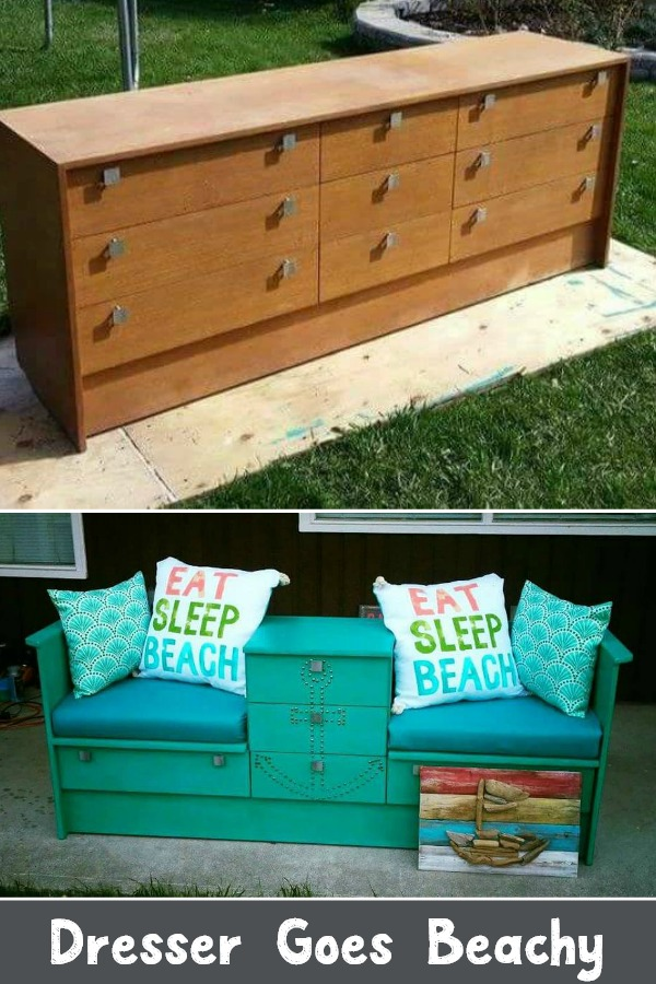 Dresser Goes Beachy