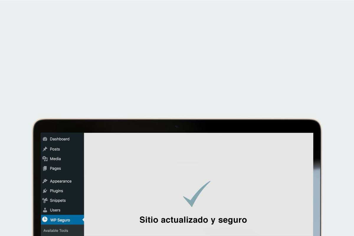 Web Wordpress actualizada