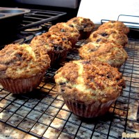 Mommie's Blueberry Muffins with Streusel