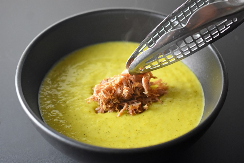 Instant Pot Curried Cream of Broccoli Soup