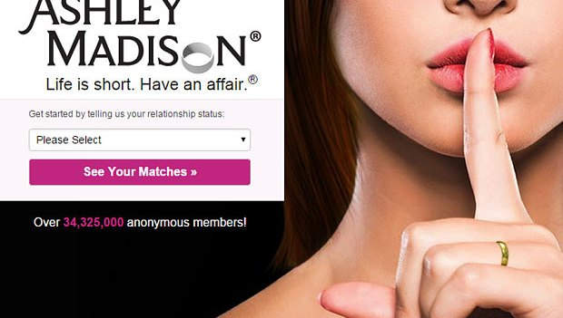 ashley madison life is short have an affair