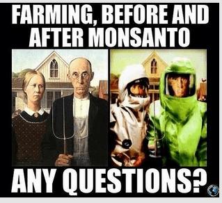 Monsanto = Destorying Family Farmers
