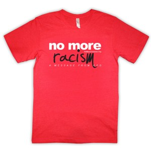 no-more-racism-red-tshirt