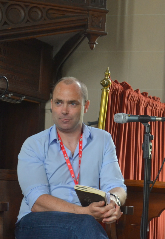 Donal Ryan - Writer - Festival of Writing, Borris