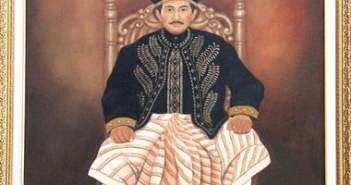 13 IMG 0382 Lukisan Sultan Aji Muhammad Idris penguasa Kesultanan Kutai Kartanegara ke 14