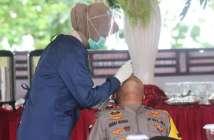 Kapolda Kaltim dan Pangdam VI Mulawarman Siap Divaksin