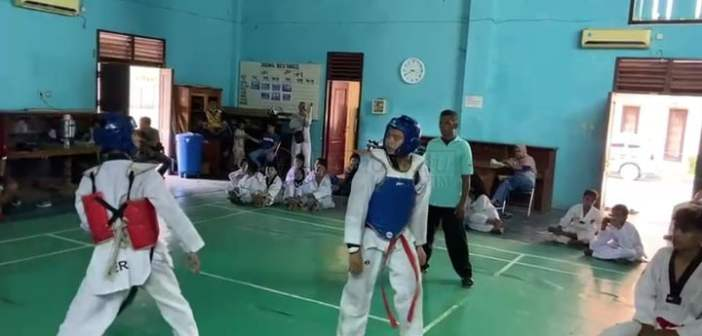 Taekwondo Kaltim Belum Memuaskan