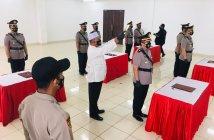 Lima Perwira Polres Kukar Dimutasi, Kompol Aldi Alfa Faroqi Jabat Wakapolres