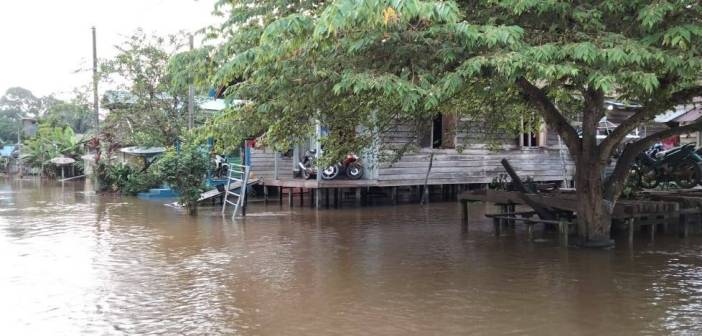 Banjir Kiriman Melanda 8 Desa di Kembang Janggut Kukar